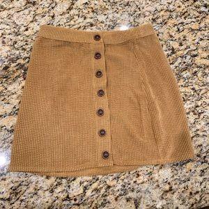 Le Lis Corduroy Skirt